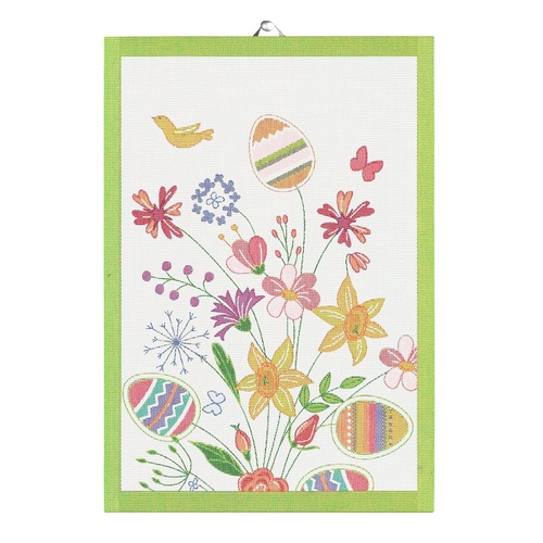 Paskbuket Tea Towel 35x50