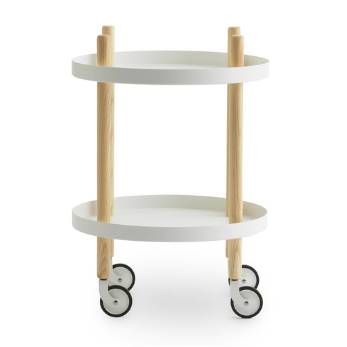 Block Table Round white
