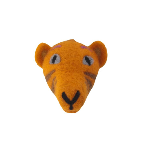 Tiger Head felted D