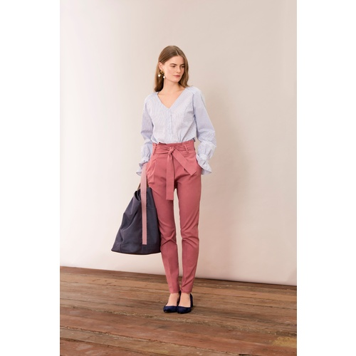 Basic Stretch Pants Rose