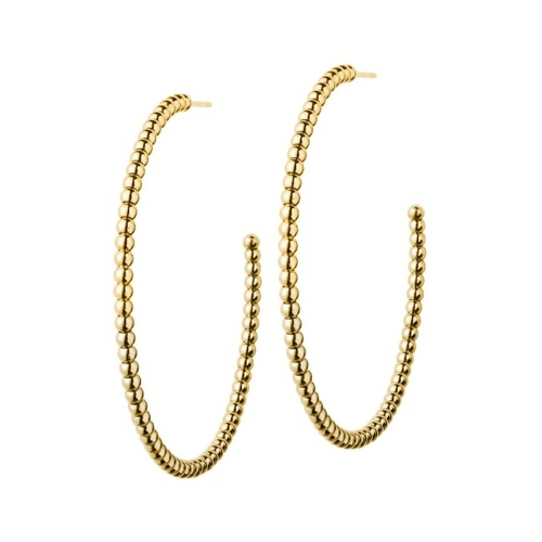 Domino Earrings gold