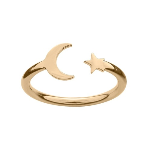 Bright Night Ring gold