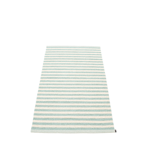 Duo Rug pale turquoise 85x260
