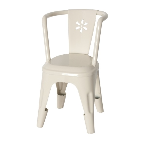 Metal Chair offwhite