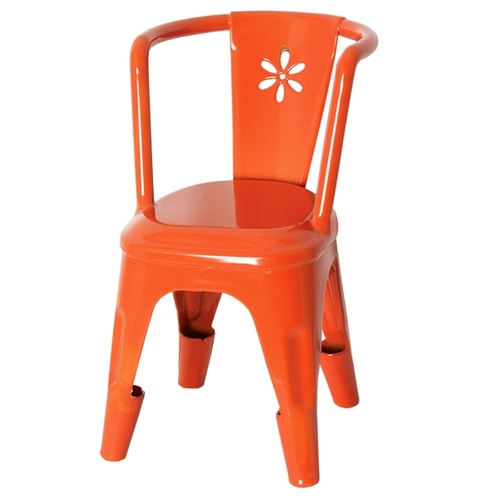 Metal Chair orange D