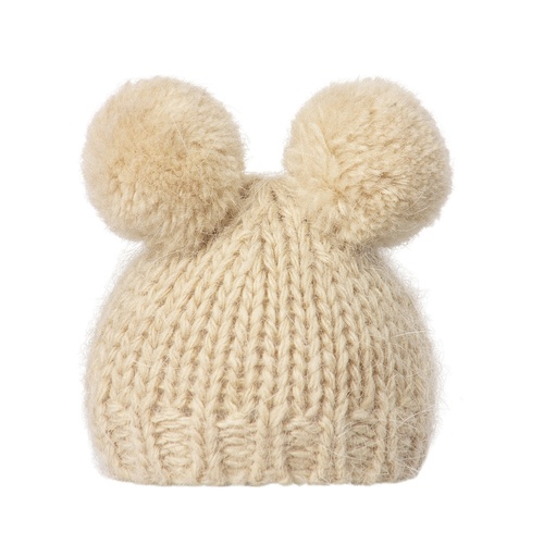 Knitted Hat BF cream