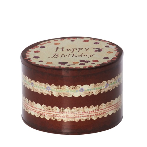 Birthday Cake Tin Box