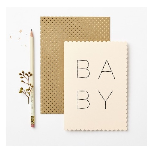 Luxe Baby Girl Card