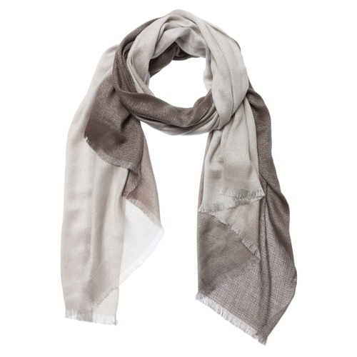 Ombre Scarf brown