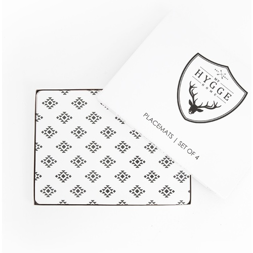 Monochrome Love Placemats