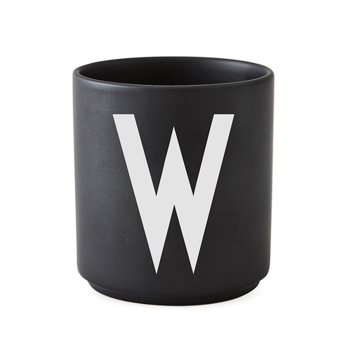 Black Porcelain Cups W