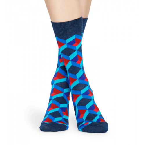 Optic Square Socks M-L