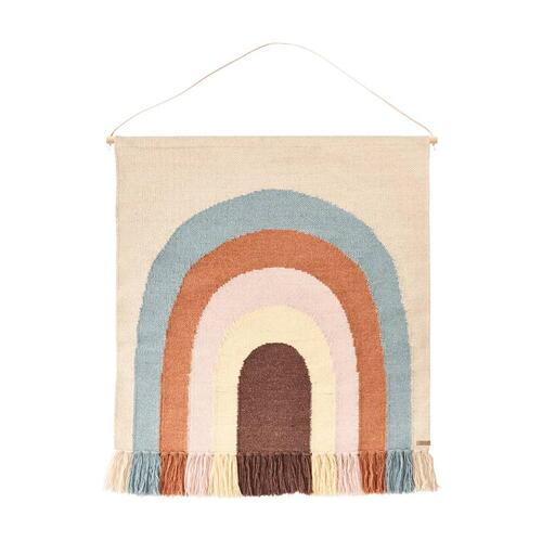 Follow The Rainbow Wall Rug multi