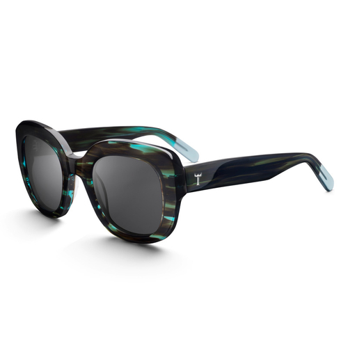Ingrid Blue Bird Sunglasses