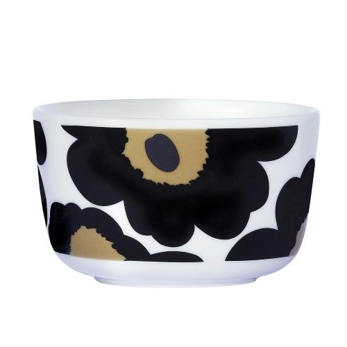 Unikko Bowl 2.5dl black
