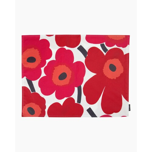 Unikko Placemat red