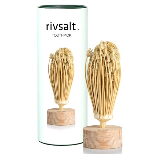 Rivsalt Toothpick with Stand