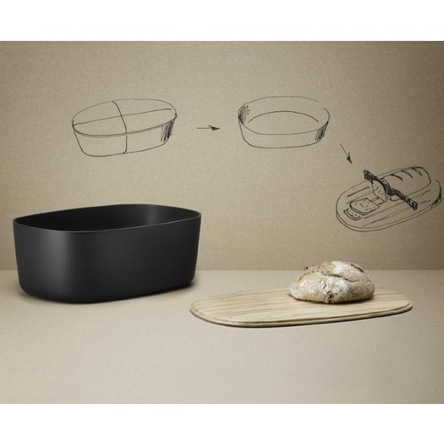 Bread Box Black