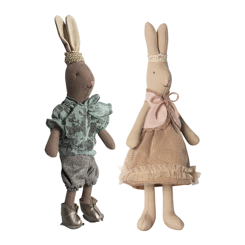 Rabbit Prince and Princess Mini