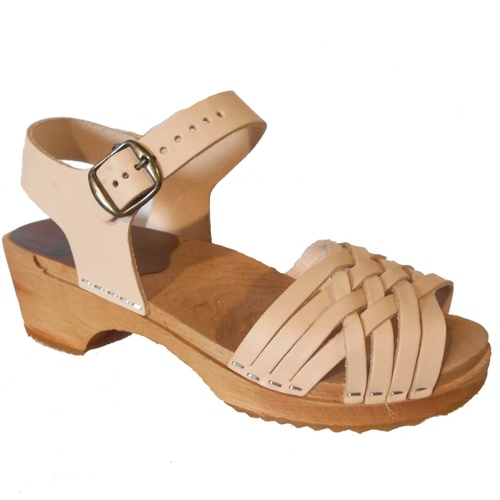 Britta Low Sandal Natural
