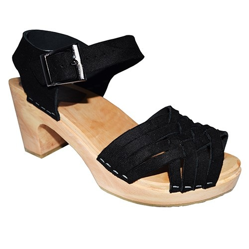 Britta Sky High Sandal Black
