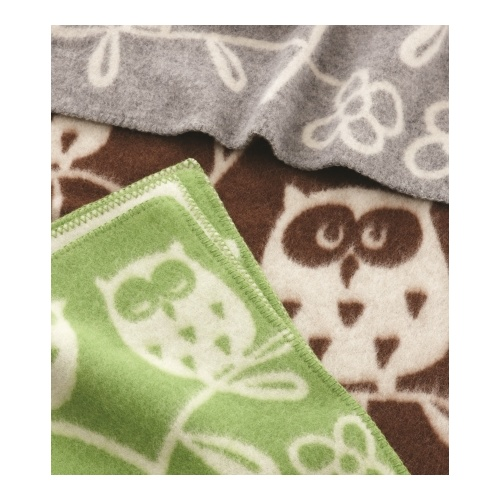 Tree Owl Wool Blanket
