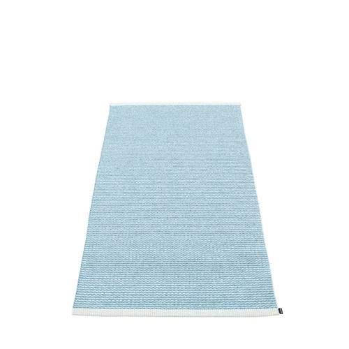 Mono Rug misty-ice blue